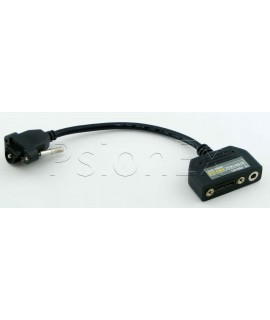 Workabout Pro G1 tether->DC power + tether cable