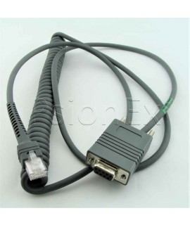 RS232 cable, DB9 Female Connector, 1.5m, coiled, TxD on 2
