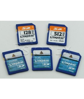 SD standard card 256MB