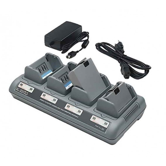 Zebra Lithium-Ion Quad Charger (charges up to 4 batteries), UK, UCLI72-4