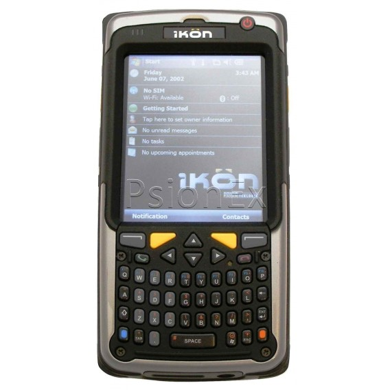 Psion IKON, WM 6.1 classic, alphanumeric Qwerty, 2D imager, camera, WiFi,