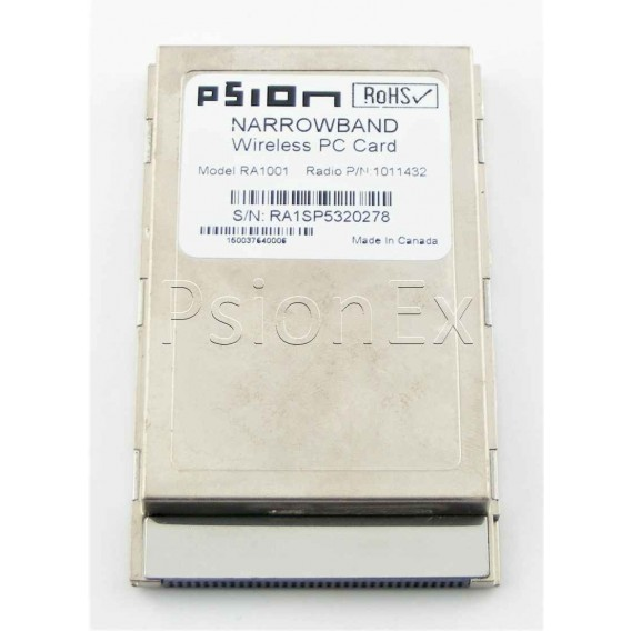 7530/8525/8530 narrow band radio, type III PC card, 435-451 MHz, 12.5 - 25KHz, 0.5W