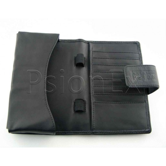 Psion Series 3/5 leather case, black