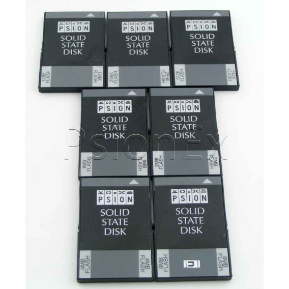 Flash SSD card 512K
