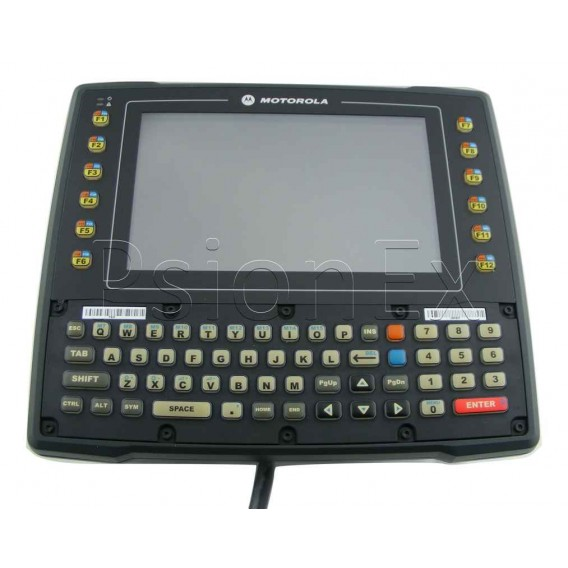 Zebra VH10 vehicle-mount computer, Qwerty, WiFi, PS 12-48V, int. antenna 2.4 + 5 GHz, UPS, ext. cable