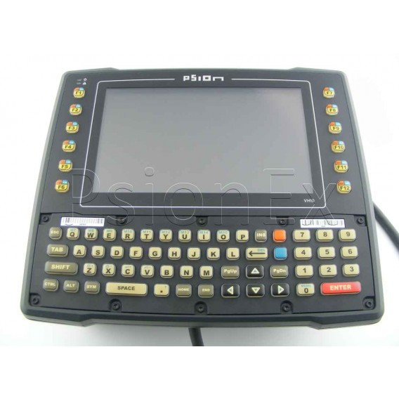 Zebra Psion VH10 vehicle-mount computer, Qwerty, WiFi, PS 12-48V, ext. antenna ready 2.4 GHz