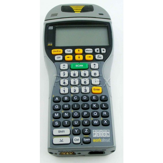 Workabout MX 2MB, scanner, RS232, alphanumeric