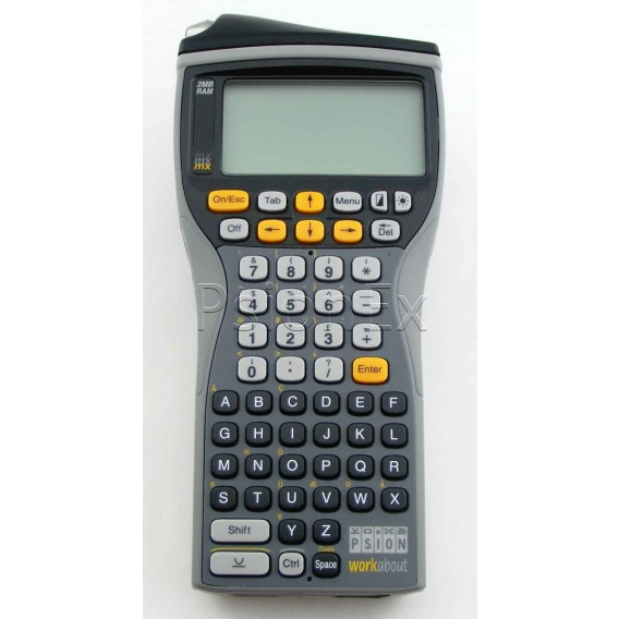 Workabout MX 2MB, Barcode Wand, RS232, alphanumeric