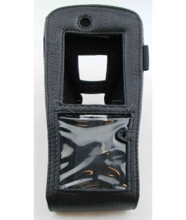 Workabout Pro G1 short, leather case, with pistol grip