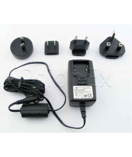 Zebra Charger for printer MZ220, 12V, 1.25A with 4 country adapters