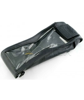 Workabout MX leather scanner case with velcro flap at bottom