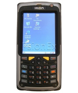 Psion IKON, WIN CE 5.0, numeric w/ phone keys, 1D laser, camera, WiFi, English