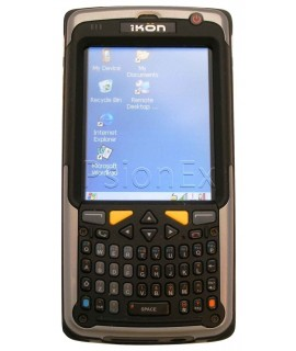Psion IKON, WIN CE 5.0, alpha numeric Qwerty, 1D imager, GSM/EDGE, GPS,  camera, WiFi, English