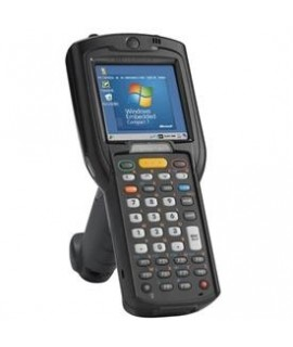 Zebra MC32, CE 7.x, 512 RAM, 38 Key, 2D medium Range Imager, HC Battery