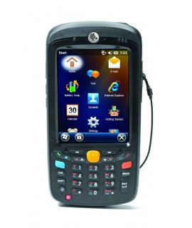 MC55A0, Windows Mobile 6.5 Professional, Numeric, 2D Imager, WLAN, Bluetooth, ext. Battery