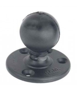 """RAM 3.68"""" Diameter Round Plate with 2.25"""" D size Ball (for 4'' or 12'' RAM arm)"""