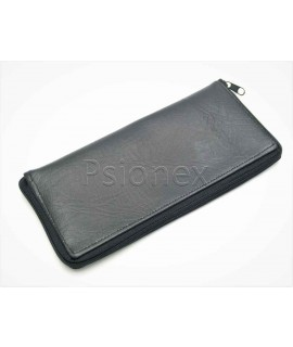 Handmade Leather zip case suitable for Planet Gemini, Cosmo and Communicator