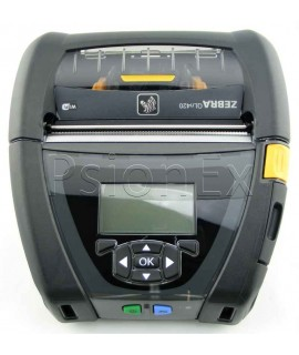 "Zebra QLn420 DT Printer, Bluetooth 3.0, WLAN dual, Mfi + Ethernet, 0.75"" Core, Grouping E, Belt clip"