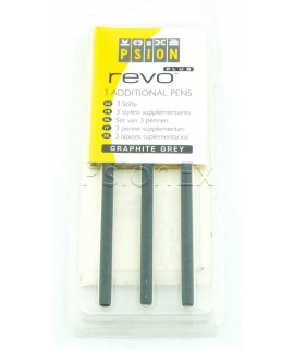 Psion Revo stylus graphite grey, pack of 3