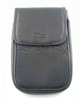 Psion Series 3/5 leather case, black pouch