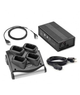 Zebra MC90/MC91/MC92 4 Slot Battery Charger Kit (US)