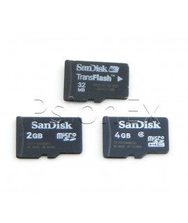 SD micro card 2GB