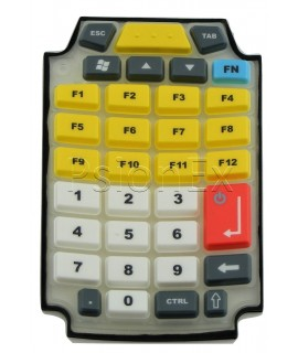 Zebra Omnii XT15 Freezer Keypad Long, 34 Key, Numeric Telephony, 12 Fn