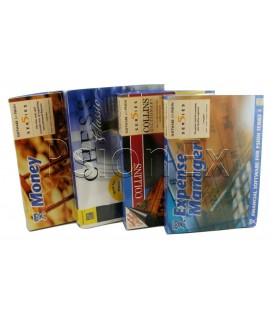 Software Series 5: Games pack of 5 on 3,5'' disk