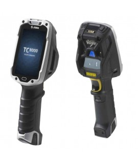 Zebra TC8000, Android, Premium, 1GB/8GB, 2D Extended Range Imager, NFC, Camera, Gyroscope, Digital Compass
