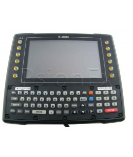 Zebra VH10 vehicle-mount computer, Qwerty, WiFi, PS 12-48V, int. antenna 2.4 + 5 GHz