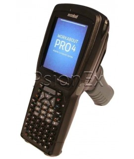 Zebra Workabout Pro 4, alphanumeric, WEHH 6.5, 2D imager slim pod, RFID, UMTS/HSPA +EU, GPS, Pistol Grip