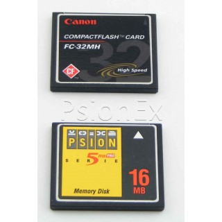 CF card - blank for Netbook operating system