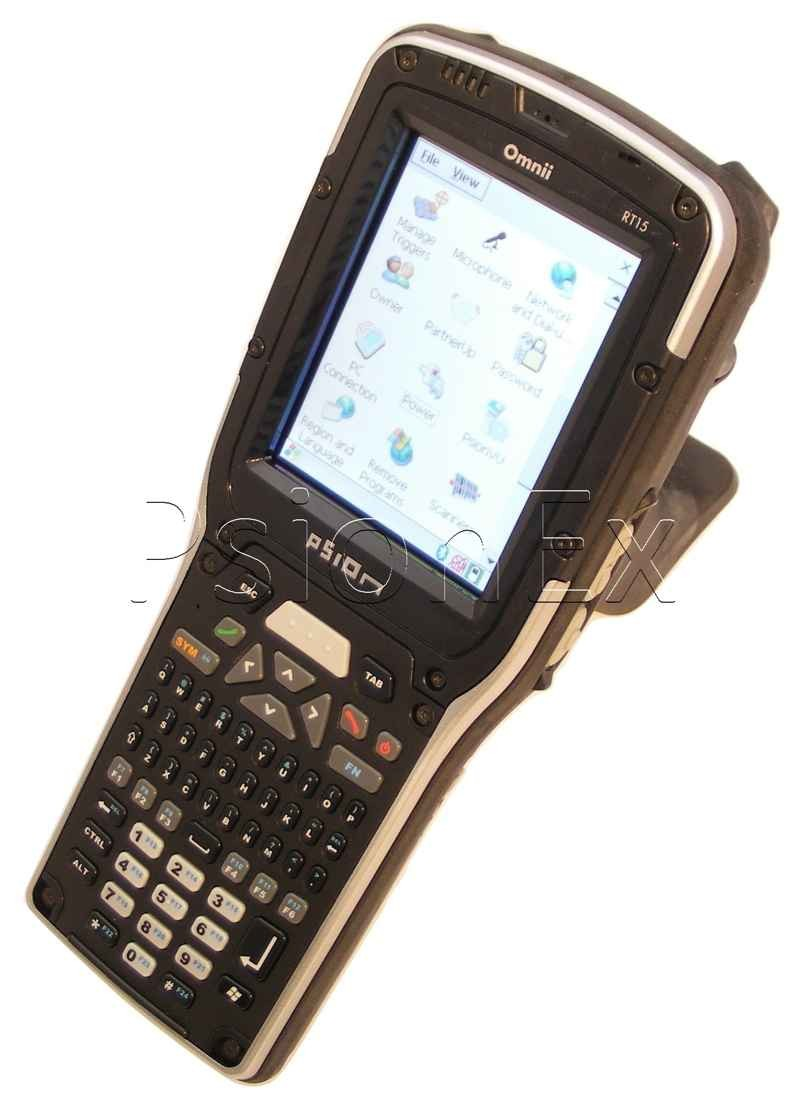 Zebra Omnii RT15, Win CE 6.0, 66 key/Alpha Qwerty tel, 1D Scanner