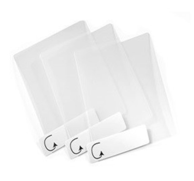 VH10 screen protectors, Clear, pack of 3