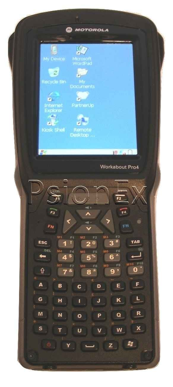 Zebra Workabout Pro 4 - Long, Alpha Numeric, Windows CE6, 1D, WLAN